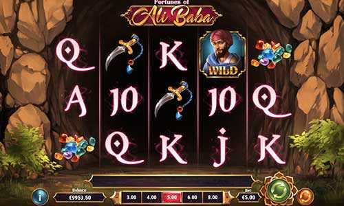 fortunes of ali baba slot screen - Fortunes of Ali Baba Slot Review