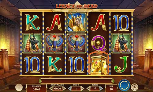 legacy of dead slot screen - Legacy of Dead Slot Review