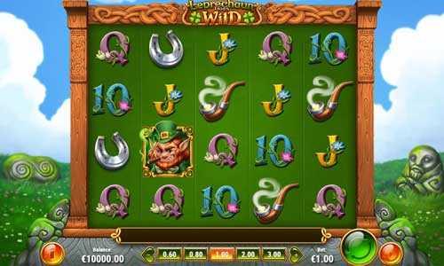leprechaun goes wild slot screen - Leprechaun Goes Wild Slot Game