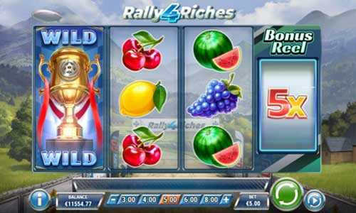rally 4 riches slot screen - Rally 4 Riches Slot Review