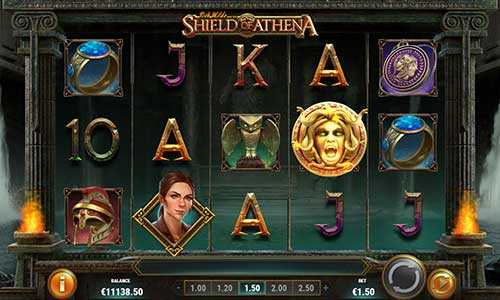 rich wilde and the shield of athena slot screen - Rich Wilde and the Shield of Athena Slot Review