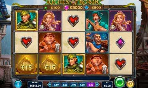 riches of robin slot screen - Riches of Robin Slot Game