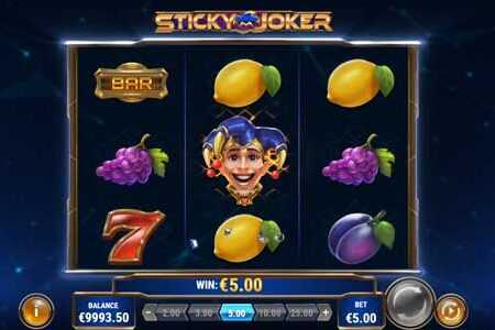 Sticky Joker Slot Game