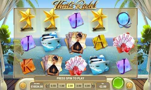 thats rich slot screen - Thats Rich Slot Game