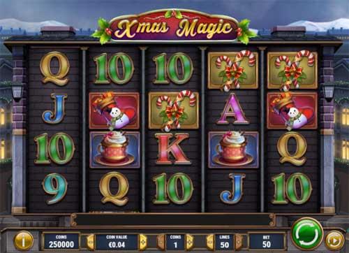 xmas magic slot screen - Xmas Magic Slot Game