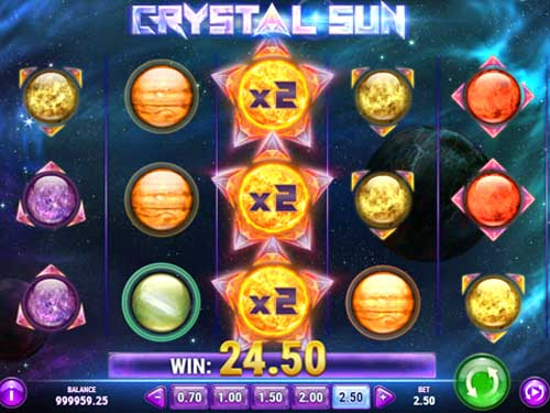 crystal sun slot screen - Crystal Sun Slot Game