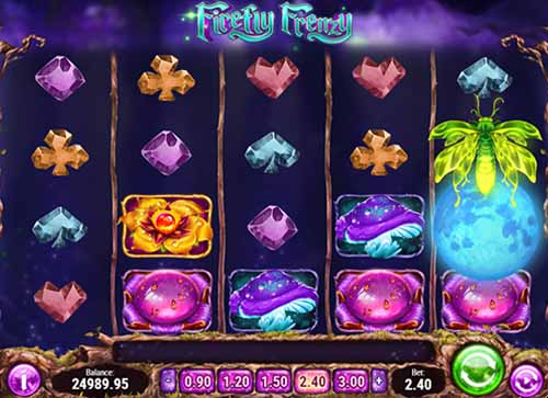 firefly frenzy slot screen - Firefly Frenzy Slot Game