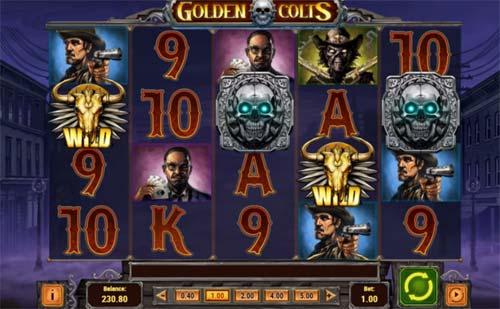 golden colts slot screen - Golden Colts Slot Game