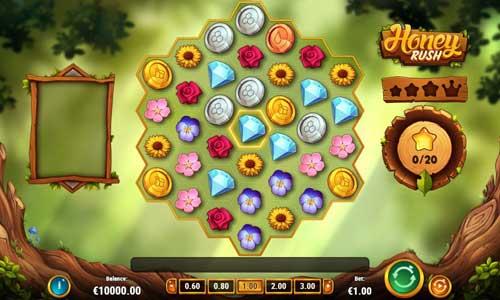 honey rush slot screen - Honey Rush Slot Game