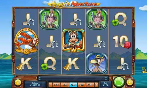 hugos adventure slot screen - Hugos Adventure Slot Game