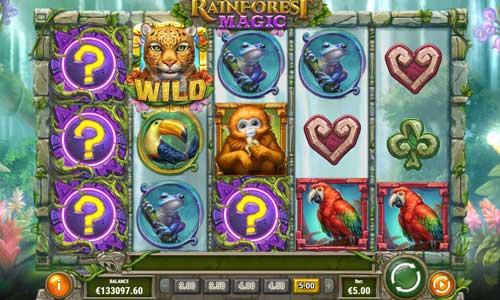 rainforest magic slot screen - Rainforest Magic Slot Game