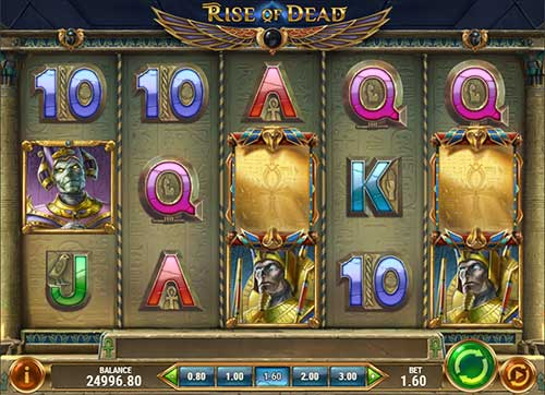 rise of dead slot screen - Rise of Dead Slot Game