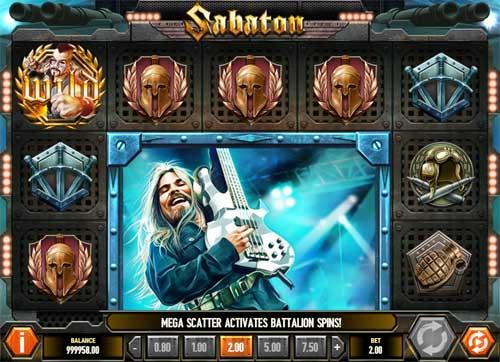sabaton slot screen - Sabaton Slot Game