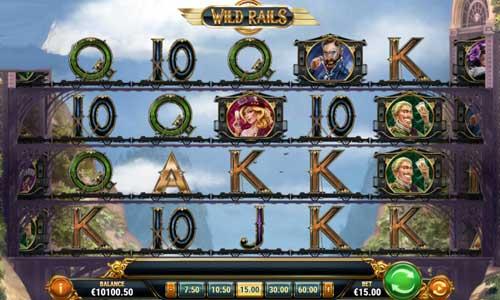 wild rails slot screen - Wild Rails Slot Game