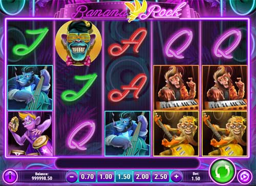 banana rock slot screen - Banana Rock Slot Review
