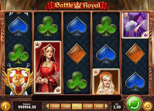 battle royal slot screen - Battle Royal Slot Review