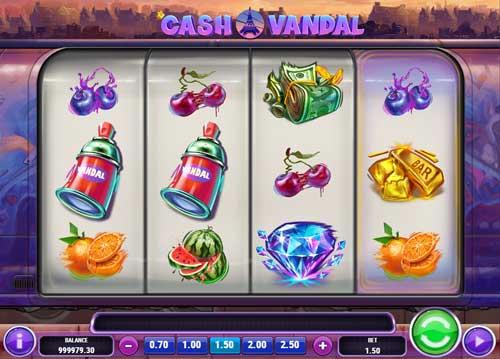 cash vandal slot screen - Cash Vandal Slot Review