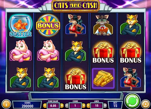 cats and cash slot screen - Cats And Cash Slot Review