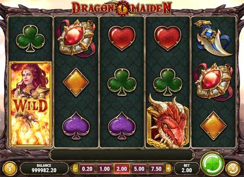 dragon maiden slot screen - Dragon Maiden Slot Game