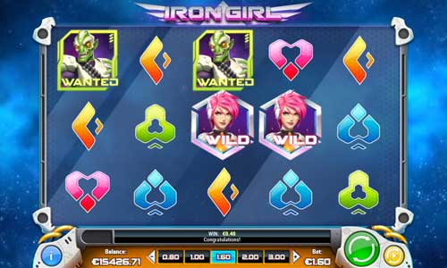 iron girl slot screen - Iron Girl Slot Game