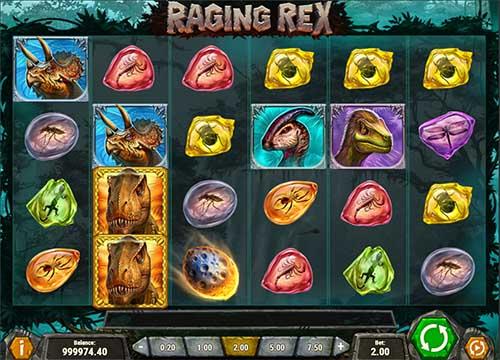 raging rex slot screen - Raging Rex Slot Game
