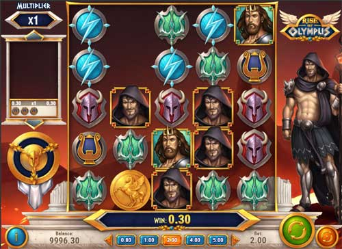 rise of olympus slot screen - Rise of Olympus Slot Game