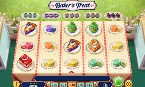 bakers treat slot screen - Bakers Treat Slot Game