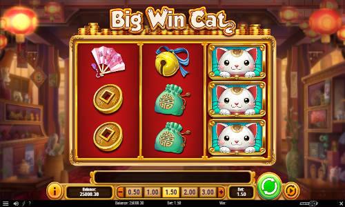 big win cat slot screen - Big Win Cat Slot Game