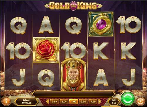 gold king slot screen - Gold King Slot Review