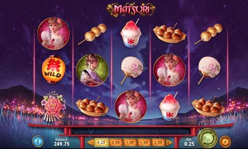 matsuri slot screen - Matsuri Slot Game