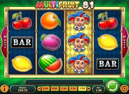 multifruit 81 slot screen - Multifruit 81 Slot Review