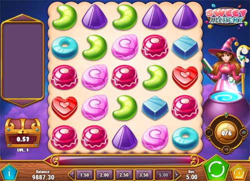 sweet alchemy slot screen - Sweet Alchemy Slot Game