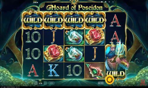hoard of poseidon slot screen - Hoard of Poseidon Slot Review