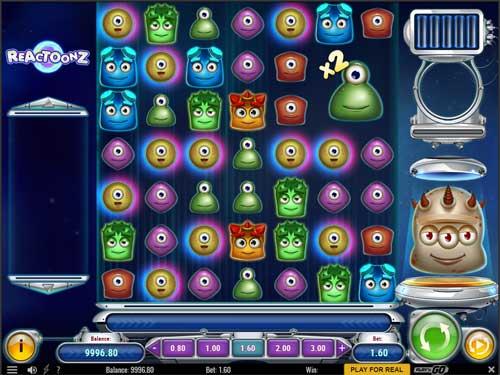 reactoonz slot screen - Reactoonz Slot Review