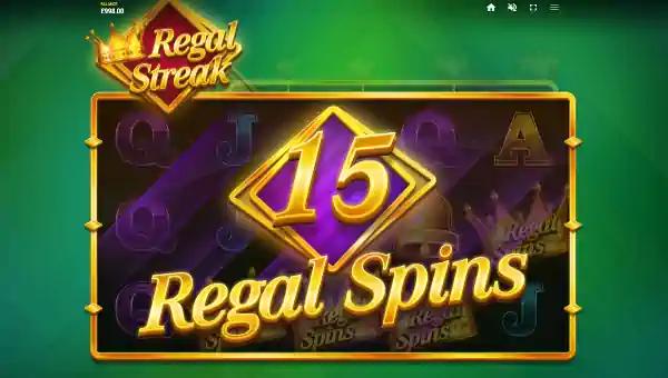 regal streak slot screen - Regal Streak Slot Review