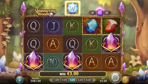 shimmering woods slot screen - Shimmering Woods Slot Game