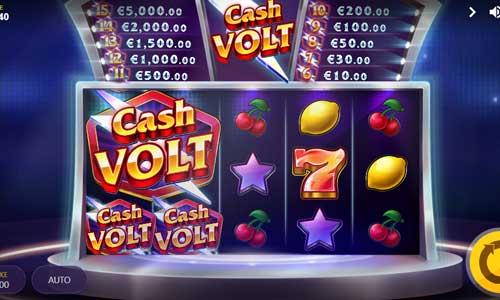 cash volt slot screen - Cash Volt Slot Review