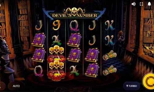 devils number slot screen - Devil's Number Slot Review