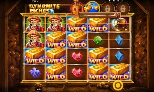 dynamite riches slot screen - Dynamite Riches Slot Game