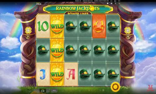 rainbow jackpots power lines slot screen - Rainbow Jackpots Slot Review