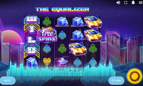 the equalizer slot screen - The Equalizer Slot Game