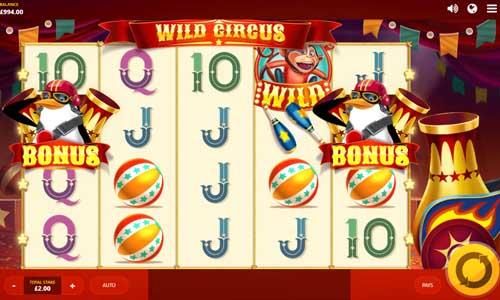wild circus slot screen - Wild Circus Slot Review