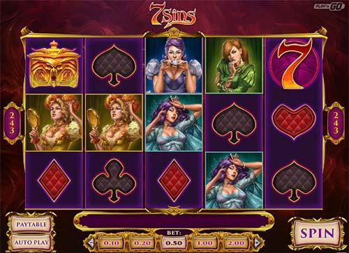 7 sins slot screen - 7 Sins Slot Review
