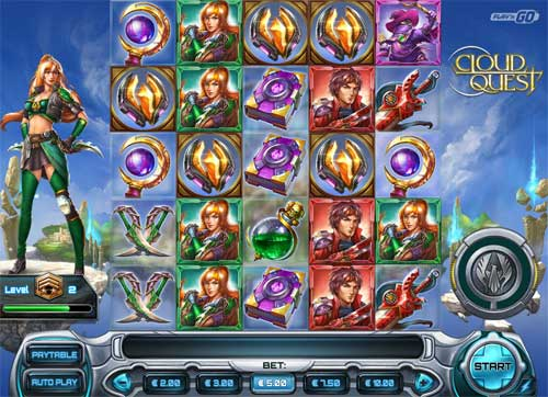 cloud quest slot screen - Cloud Quest Slot Review