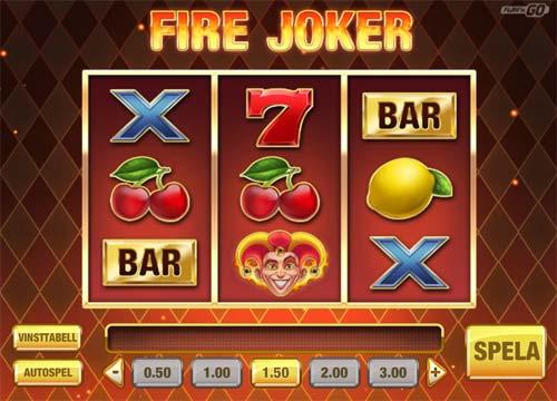 fire joker slot screen - Fire Joker Slot Review