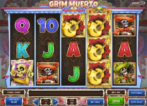 grim muerto slot screen - Grim Muerto Slot Review