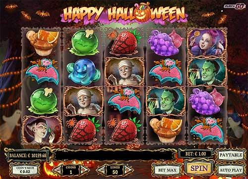 happy halloween slot screen - Happy Halloween Slot Review