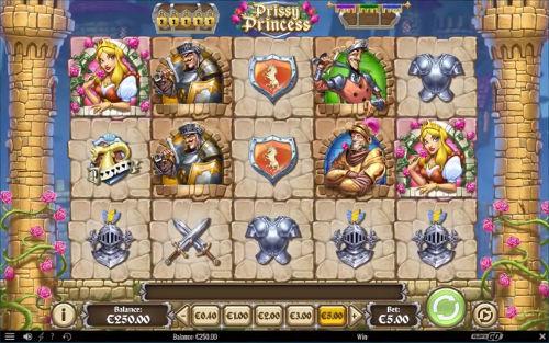 prissy princess slot screen - Prissy Princess Slot Review