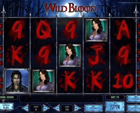 Wild Blood Slot Review
