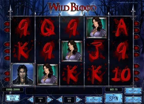 Wild Blood Slot Game